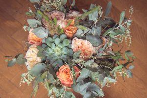 Un bouquet de mariée unique